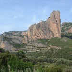 Ett avsntt av Pyrenéerna från sydsidan.